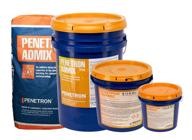 добавка пенетрон в бетонную смесь